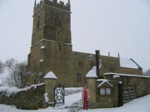 Snow at Cherington